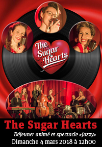 The Sugar Hearts - Spectacle jazzy